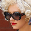 Christina Aguilera Sunglasses - Butterfly Sunglasses