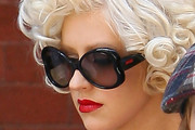 Christina Aguilera Butterfly Sunglasses