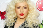 Christina Aguilera Medium Curls