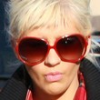 Christina Aguilera Sunglasses - Oversized Sunglasses
