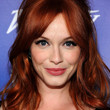 Christina Hendricks Hair - Half Up Half Down