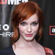 Christina Hendricks Hair - Loose Bun