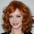 Christina Hendricks Hair - Medium Curls