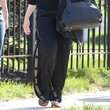 Christina Hendricks Clothes - Silk Pants
