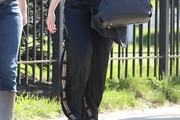 Christina Hendricks Silk Pants