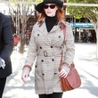 Christina Hendricks Clothes - Trenchcoat