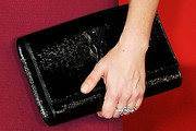 Christina Steinberg Patent Leather Clutch