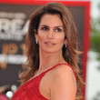 Cindy Crawford Hair - Long Side Part