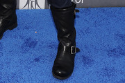 Cindy Crawford Motorcycle Boots