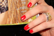 Cintia Dicker Red Nail Polish