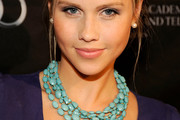 Claire Holt Gemstone Beaded Necklace