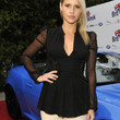 Claire Holt Clothes - Peplum Top