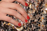 Coco Rocha Red Nail Polish