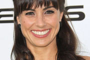 Constance Zimmer Long Wavy Cut with Bangs