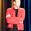 Cory Monteith Clothes - Motorcycle Jacket