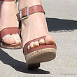 Courtney Robertson Strappy Sandals