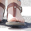 Courtney Robertson Thong Sandals