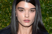 Crystal Renn Shoulder Length Hairstyles