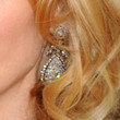 Cynthia Nixon Dangling Diamond Earrings