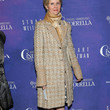 Cynthia Nixon Tweed Coat