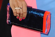 Rosario Dawson Hard Case Clutch