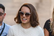 Daisy Ridley Shoulder Length Hairstyles