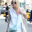 Dakota Fanning Button Down Shirt
