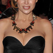 Dannii Minogue Bronze Statement Necklace