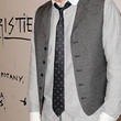 David Arquette Accessories - Dotted Tie