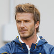 David Beckham Short Side Part