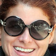 Debra Messing Sunglasses - Round Sunglasses