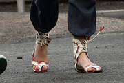 Diana Vickers Gladiator sandals
