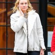Diane Kruger Clothes - Zip-up Jacket