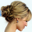 Dianna Agron Hair - Loose Bun