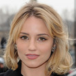 Dianna Agron Hair - Medium Wavy Cut