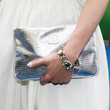 Dianna Agron Handbags - Metallic Clutch