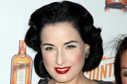 Dita Von Teese Sports Signature Retro Curls