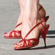 Dita Von Teese Strappy Sandals