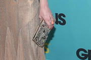 Drew Barrymore Gemstone Inlaid Clutch