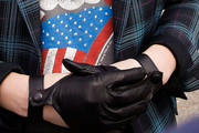 Drew Barrymore Leather Gloves