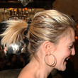 Drew Barrymore Hair - Loose Ponytail