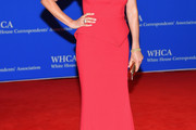 Connie Britton Strapless Dress