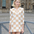 Elena Perminova Clothes - Print Dress