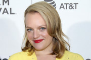 Elisabeth Moss Shoulder Length Hairstyles