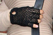 Eliza Dushku Fingerless Gloves
