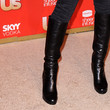 Eliza Dushku Knee High Boots