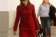 Elizabeth Banks Wool Coat