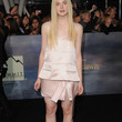 Elle Fanning Clothes - Cocktail Dress