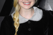 Elle Fanning Loose Braid