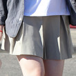Elle Fanning Clothes - Mini Skirt